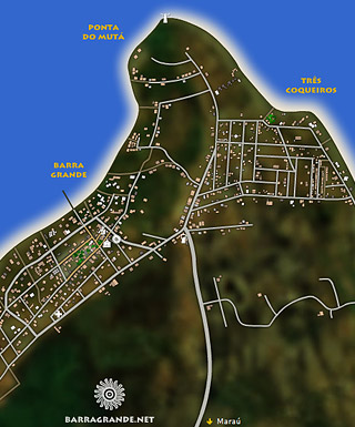 Novo mapa de Barra Grande